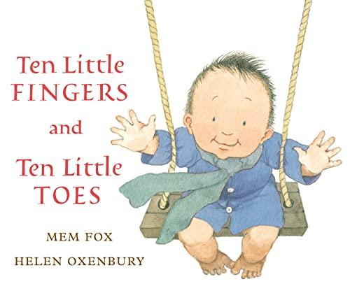 9780547581033: Ten Little Fingers and Ten Little Toes lap board book