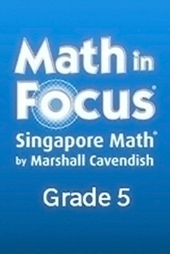 9780547582986: Math in Focus Reteach Workbook, Book B Grade 5