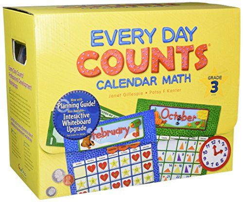 9780547586038: Every Day Counts: Calendar Math: Teacher Kit with Planning Guide Grade 3