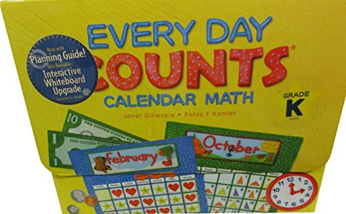 9780547586335: Every Day Counts: Calendar Math: Teacher Kit with Planning Guide Grade K