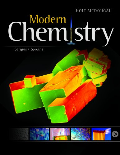 9780547586632: Modern Chemistry: Student Edition 2012