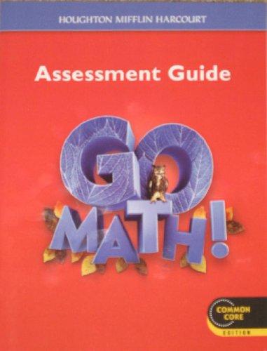 9780547586748: Go Math!: Assessment Guide Grade 6