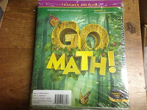 9780547586816: Go Math!: Teacher Edition Collection Grade 1 2012