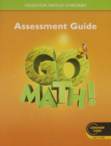 9780547586854: Go Math!: Assessment Guide Grade 5