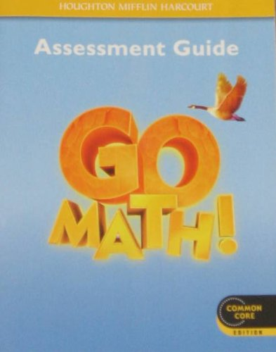 9780547586861: Go Math!: Assessment Guide Grade 4