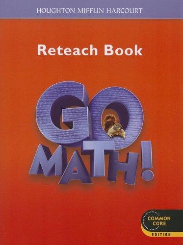 9780547586953: Go Math!: Reteach Workbook Student Edition Grade 2