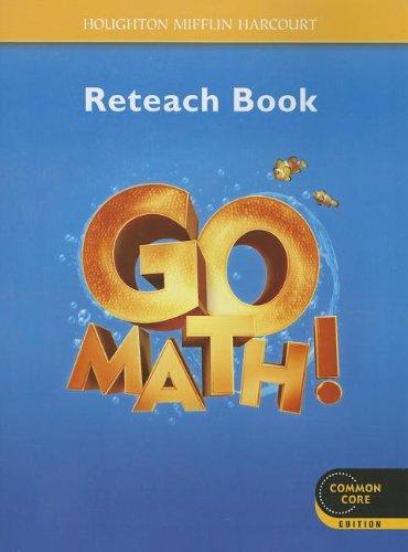 9780547586984: Go Math!: Reteach Workbook Student Edition Grade K