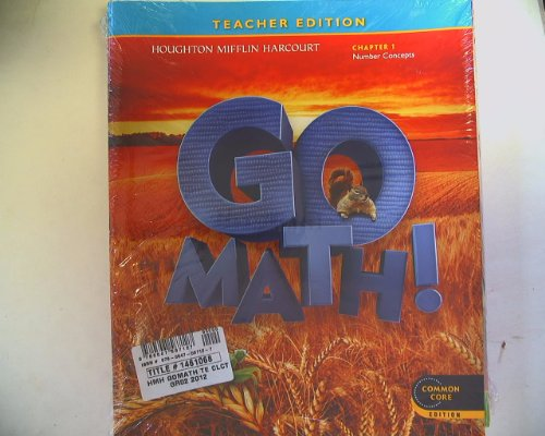 9780547587127: GO MATH! Teacher Edition Grade 2 Chapters 1-11 Pack Common Core 9780587127