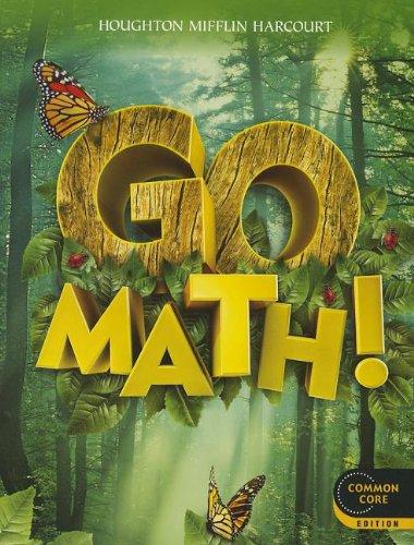 9780547587790: Go Math!: Student Edition Grade 1 2012