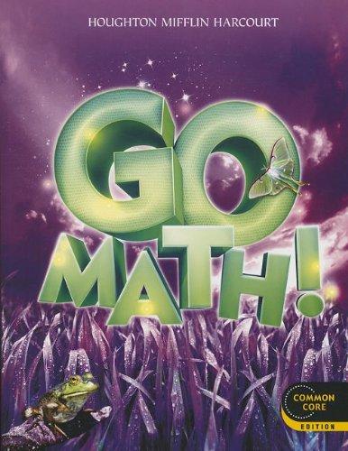 9780547587851: Go Math!: Student Edition Grade 3 2012