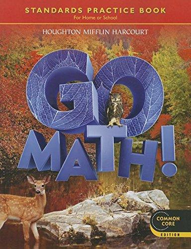 9780547588117: Go Math!: Student Practice Book Grade 6