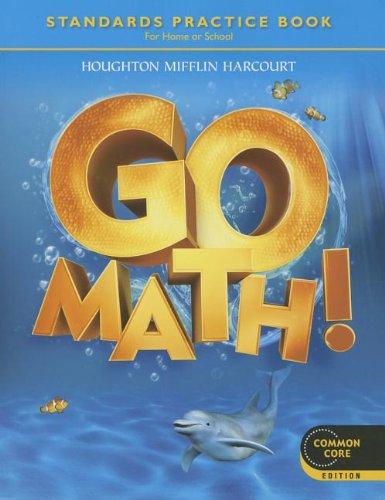 9780547588124: Go Math! Grade K: Standards Practice Book, Common Core Student Edition
