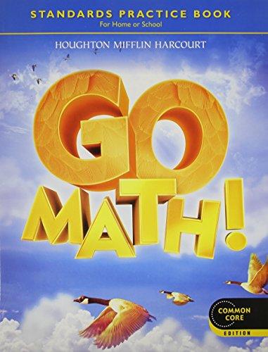 9780547588131: Go Math! Practice Book Grade 4: Common Core Edition