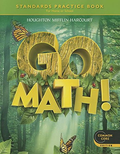 9780547588155: Go Math! Standards Practice Book Grade 1: For Home or School