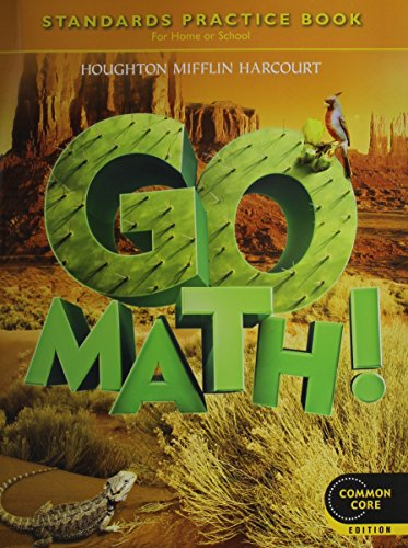 9780547588162: Go Math! Standards Practice Book, Grade 5