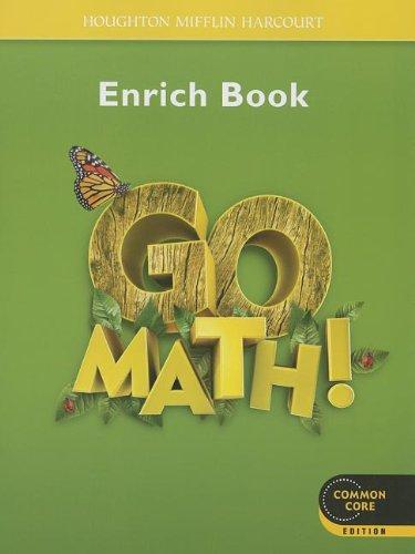 9780547588216: Go Math!: Student Enrichment Workbook Grade 1