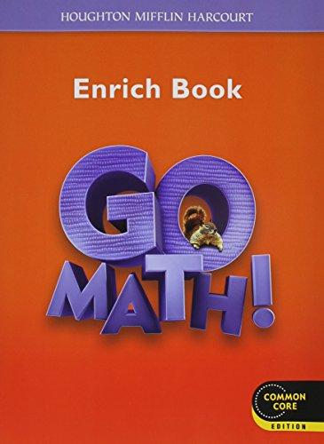 9780547588230: Go Math!: Student Enrichment Workbook Grade 2