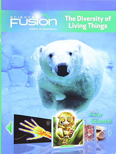 9780547589312: Sciencefusion the Diversity of Living Things Interactive Worktext Grades 6-8 Module B