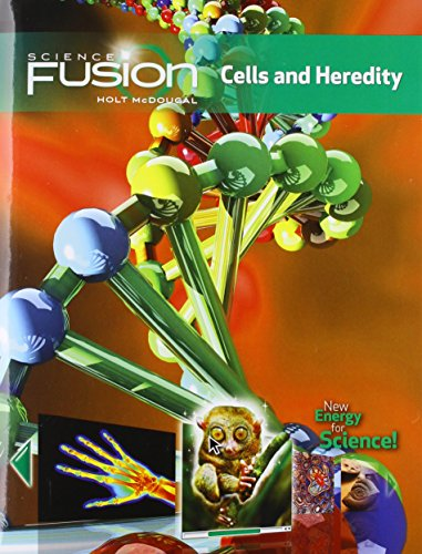 9780547589367: ScienceFusion: Student Edition Interactive Worktext Grades 6-8 Module A: Cells and Heredity 2012