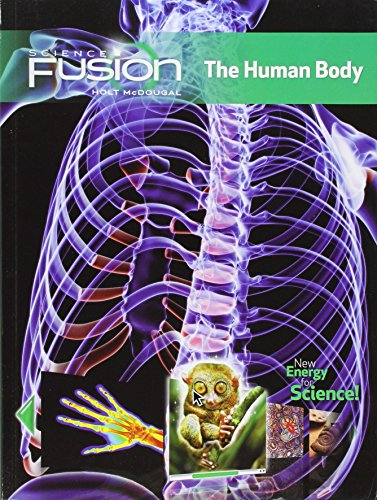9780547589404: ScienceFusion, Module C: The Human Body, Interactive Worktext Grades 6-8, Student Edition