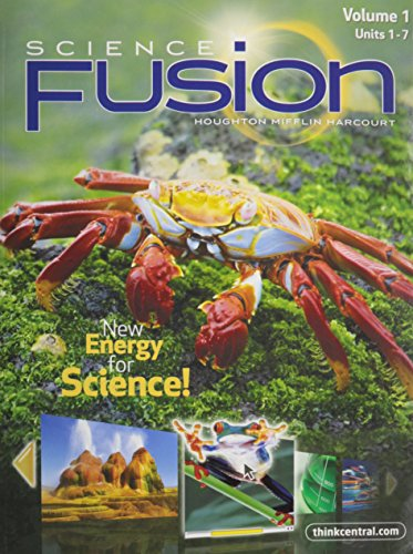 9780547589428: ScienceFusion: Student Edition Interactive Worktext Collection Grade 5 2012