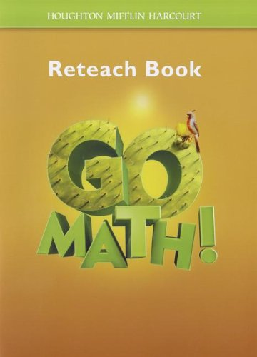 9780547589480: Houghton Mifflin Harcourt Go Math New York: Student Reteach Workbook Grade 5