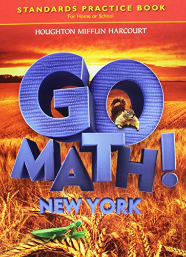9780547589503: Houghton Mifflin Harcourt Go Math New York: Student Standards Practice Book Grade 2