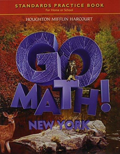 9780547589565: Houghton Mifflin Harcourt Go Math New York: Student Standards Practice Book Grade 6