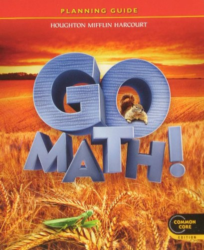 9780547590929: Planning Guide, Go Math!, 2nd Grade
