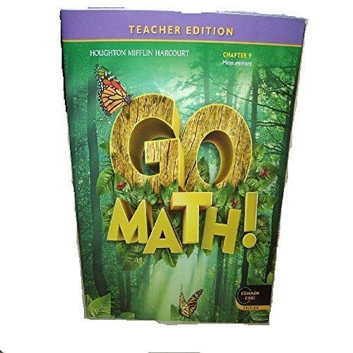 9780547591384: Go Math! Grade 1 Teacher Edition Chapter 9: Measurement (Common Core Edition)