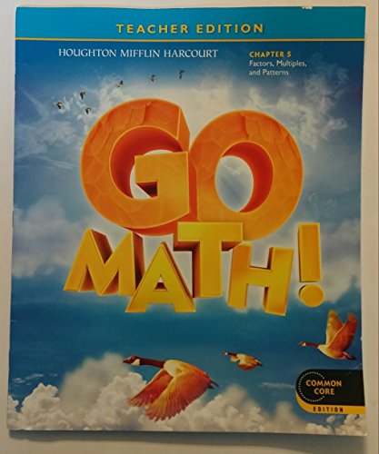 9780547591407: GO MATH! Grade 4 Chapter 3: Multiply 2-Digit Numbers, Teacher Edition, Common Core Edition Isbn 9780547591407