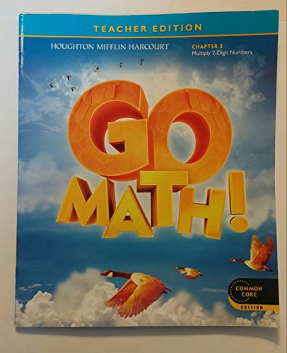 9780547591438: GO MATH! Grade 4 Chapter 5: Factors, Multiples, and Patterns Teacher Edition, Common Core Edition Isbn 9780547591438