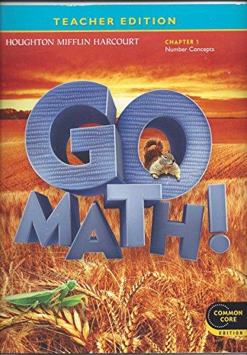 9780547591483 Teacher Edition Go Math 2nd Grade Chapter 1