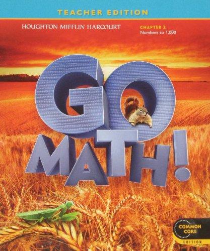 Go Math: Grade 2, Chapter 2 (Teacher's Edition): Mifflin, Houghton