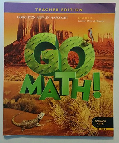 9780547591735: Go Math! Grade 5 Teacher Edition Chapter 10: Convert Units of Measure (Common Core Edition)