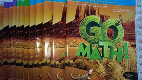 9780547591896: Go Math! Grade 5 Teacher Edition Chapter 1: Place Value, Multiplication and Expressions (Common Core Edition) (2012-05-03)