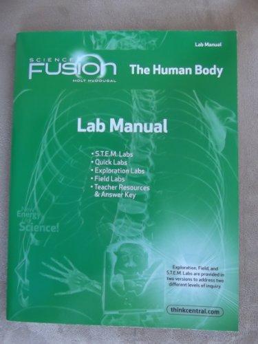 9780547592633: Science Fusion The Human Body Module C Lab Manual