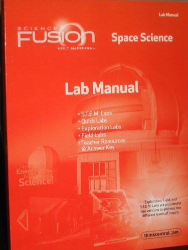 9780547593197: ScienceFusion: Lab Manual Module G Grades 6-8 Module G: Space Science