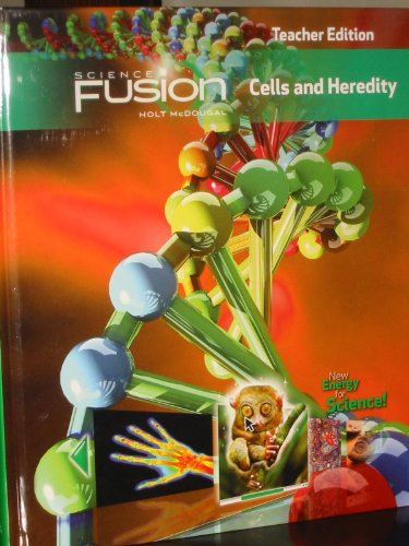 9780547593838: ScienceFusion: Teacher Edition Grades 6-8 Module A: Cells and Heredity 2012