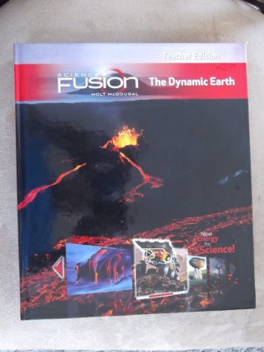 9780547593876: ScienceFusion: Teacher Edition Grades 6-8 Module E: The Dynamic Earth 2012