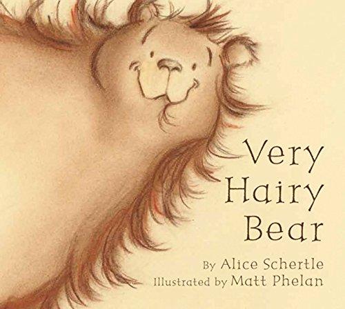 9780547594071: Very Hairy Bear board book