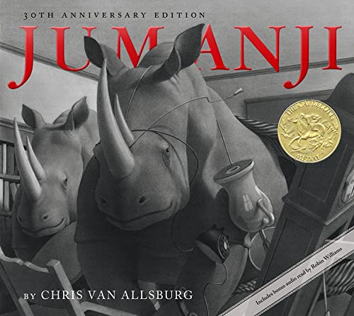 Jumanji 30th Anniversary Edition Format: Reinforced Library Binding