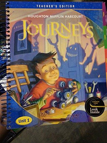 9780547608525: Journeys: Teacher's Edition: Unit 1 Grade 4 2012