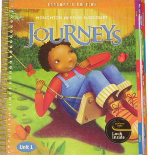 9780547608549: Houghton Mifflin Harcourt Journeys Reading Adventure, Teacher's Edition, Unit 1, Grade 2
