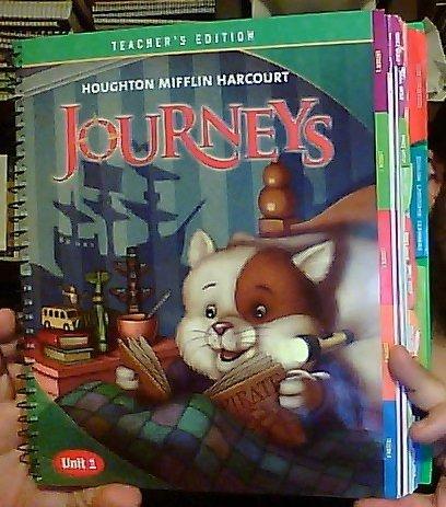 9780547608570: Journeys, Teacher's Edition, Grade 1, Unit 1