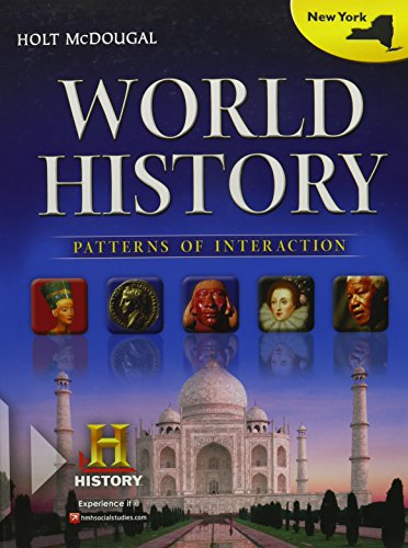 Holt McDougal World History: Patterns of Interaction 2012 New York: Student Edition 2012: MCDOUGAL,...
