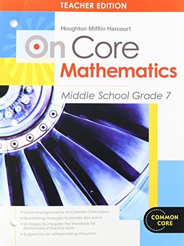 9780547617442: On Core Mathematics Middle School Grade 7