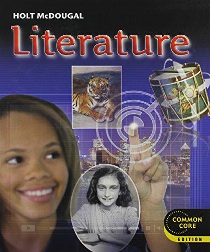 9780547618388: Holt McDougal Literature: Student Edition Grade 8 2012