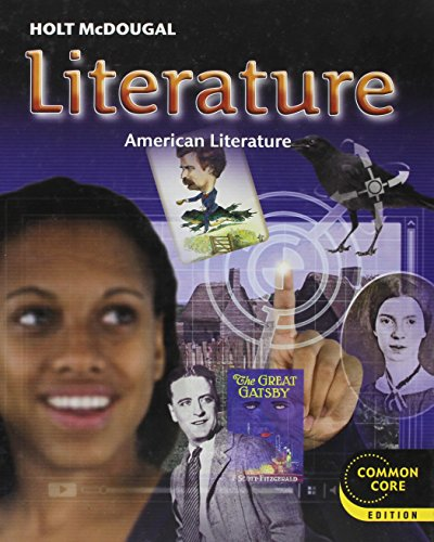 9780547618418: Holt McDougal Literature: Student Edition Grade 11 American Literature 2012