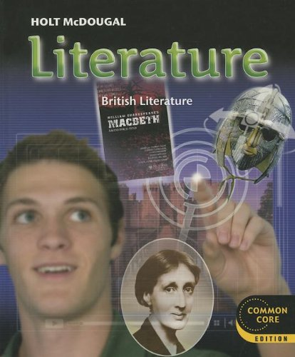 9780547618425: Holt McDougal Literature: Student Edition Grade 12 British Literature 2012